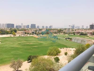 1 Bedroom Flat for Rent in Dubai Sports City, Dubai - Golf View Course  Closed Kitchen | large balcony |