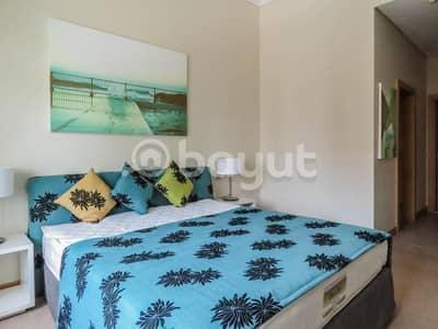 فلیٹ 1 غرفة نوم للايجار في نخلة جميرا، دبي - One Bedroom with Sea View & Beach Access