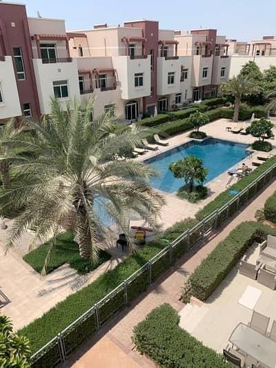 استوديو  للايجار في الغدیر، أبوظبي - Stunning studio terrace | Pool view| Corner Unit