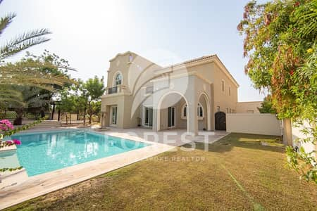 6 Bedroom Villa for Sale in Dubai Sports City, Dubai - Private and Well Maintained Villa | Full Golf View