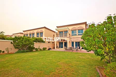 2 Bedroom Villa for Sale in Jumeirah Village Triangle (JVT), Dubai - Corner Plot | Walk to School | Away from Wires