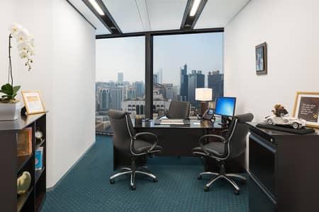 مکتب  للايجار في منطقة الكورنيش، أبوظبي - Spacious and Premium Office in World Trade Center with Spectacular Views