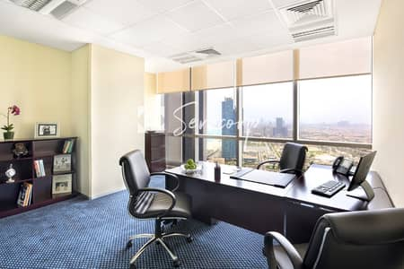 مکتب  للايجار في شارع الكورنيش، أبوظبي - Run Your Business in a Premium Office in Etihad Towers with Great Views!