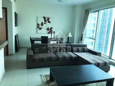 شقة 1 غرفة نوم للايجار في دبي مارينا، دبي - Partial Lake & Community View| 1BR | Paloma Tower