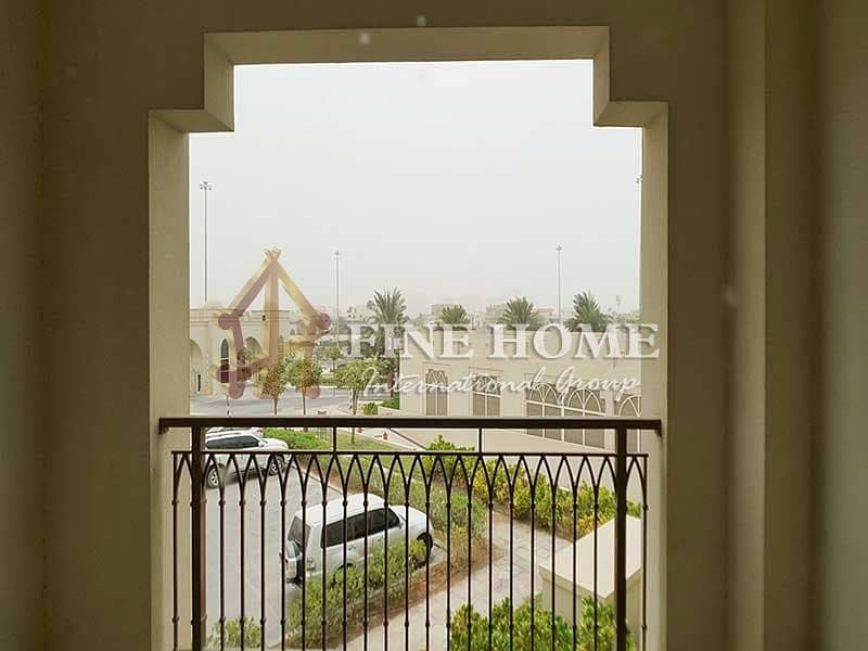 broad & superb 1BR AP in  Al Gurm Corniche ,
