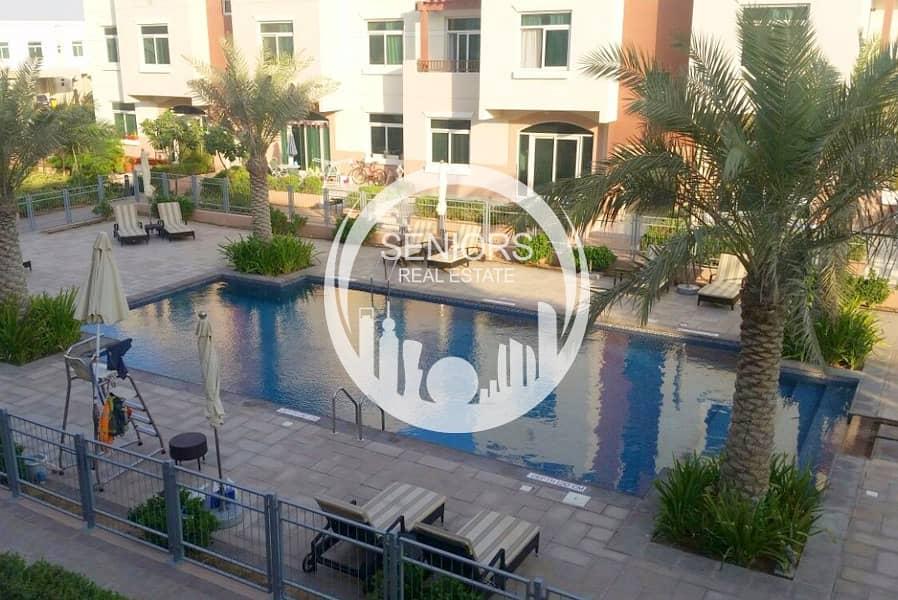 شقة في الغدیر 1 غرف 420000 درهم - 4233794