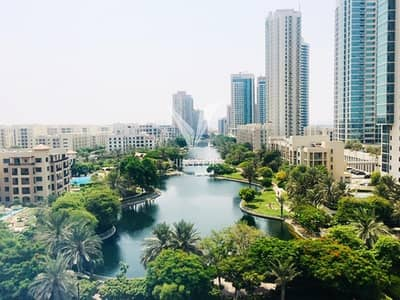 2 Bedroom Apartment for Rent in The Views, Dubai - 2 Bedroom with Full Canal View in UNA at The Greens- 2 Cheques