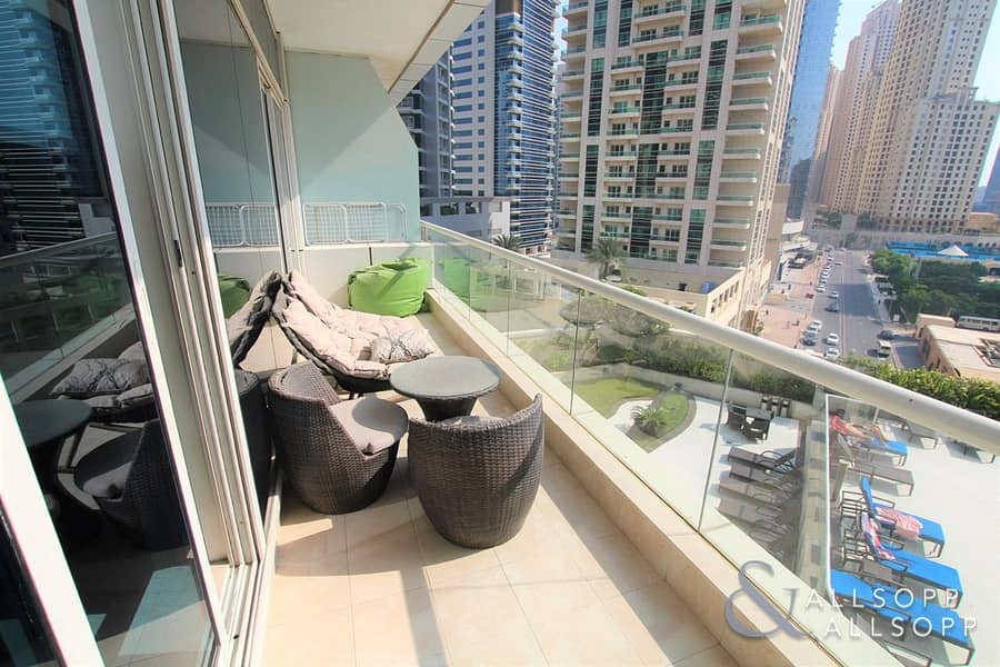 10 1BR Fully Furnished | Sea View | Available