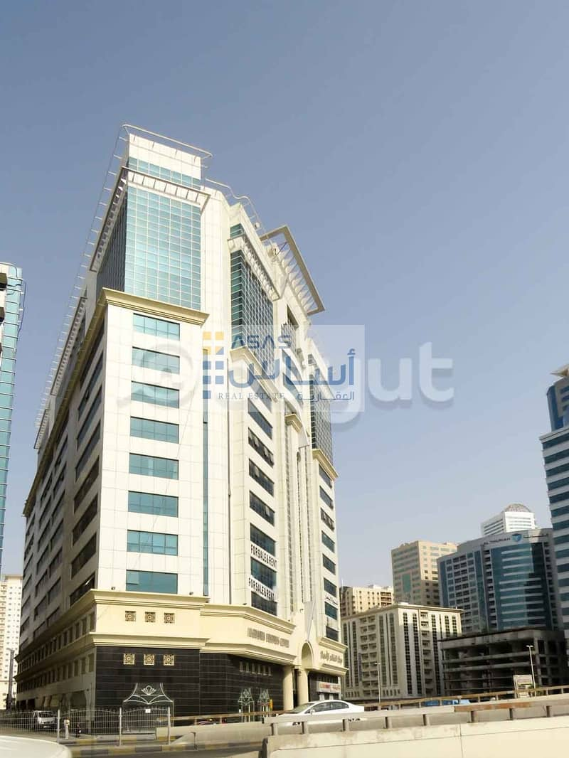 17 Offices available for rent in Ghanem Business Center Al khan