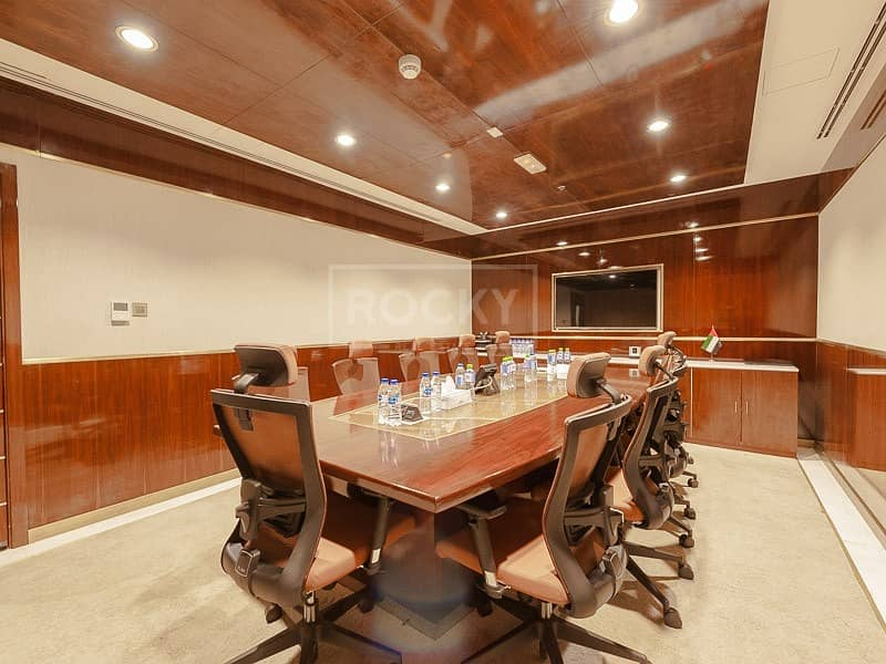 2 Fitted | Full Floor | Emirates Financial Tower