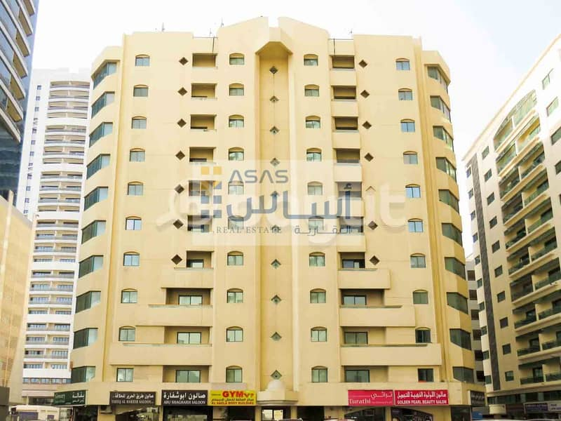 exclusive offer 1 month free for 3 Bed Room Apartments in MAJAAZ 1 Building