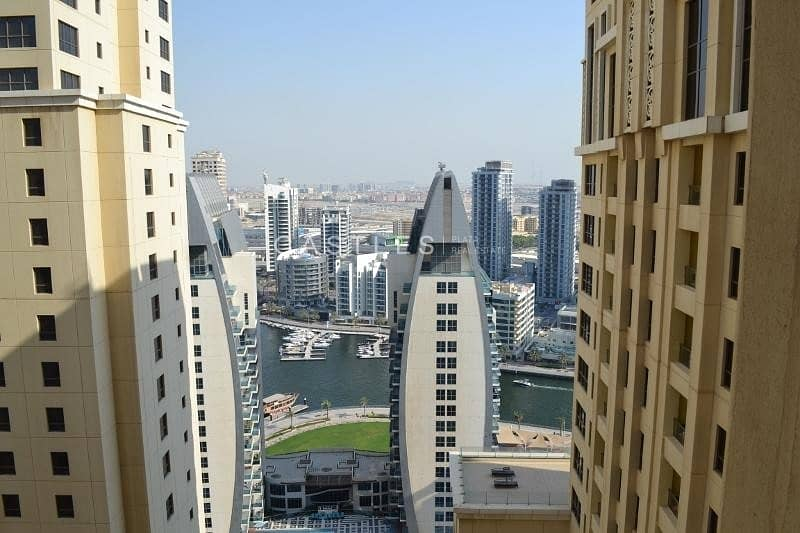 VACANT NOW JBR Shams 4 Large 2 BR  Fully furnished