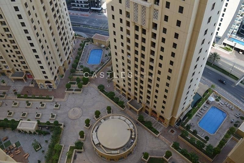 12 VACANT NOW JBR Shams 4 Large 2 BR  Fully furnished