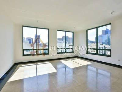 شقة 3 غرفة نوم للايجار في شارع حمدان، أبوظبي - Spacious 3BR Apartment