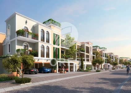 5 Bedroom Townhouse for Sale in Jumeirah, Dubai - 5 BR Townhouse with Full Sea View in Sur La Mer