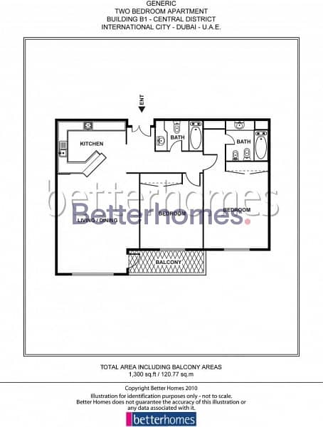 13 2 BR Apartment Available in International City