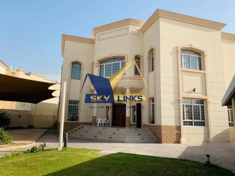 5 BR With swimming pool+ Majlis + Maid Independent Villa