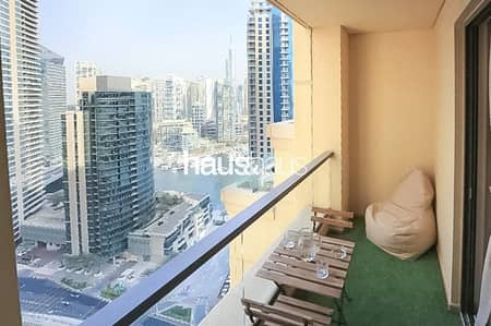 2 Bedroom Flat for Sale in Jumeirah Beach Residence (JBR), Dubai - Marina View |2 Bed Furnished | Mid Floor | Rimal 4