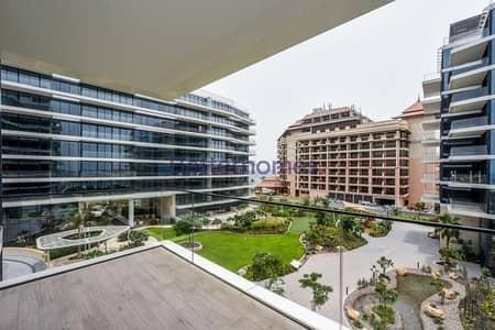 فلیٹ 1 غرفة نوم للايجار في نخلة جميرا، دبي - Corner Unit | High Floor | West Residence