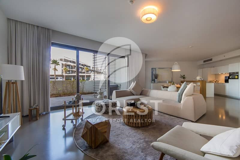 DLD Waiver 1BR with Private Terrace in Nikki Beach