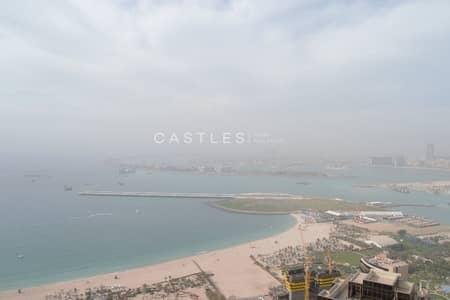 فلیٹ 2 غرفة نوم للايجار في مساكن شاطئ جميرا (JBR)، دبي - Incredible Amazing Full Sea view- 2 BR- JBR Murjan