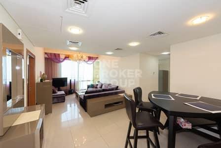 فلیٹ 3 غرفة نوم للايجار في دبي مارينا، دبي - Exclusive 3 BR + Maid | Sea View | Chiller free