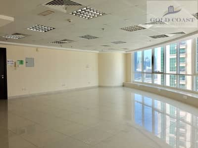 Office for Rent in Jumeirah Lake Towers (JLT), Dubai - Fortune Tower JLT | near to Metro Stn | Fitted office with Pantry