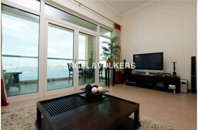 2 Fully Furnished | Stunning  Views  | High Floor