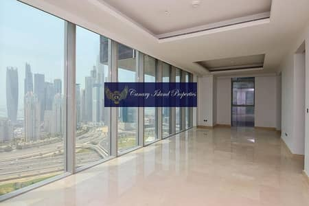 4 Bedroom Flat for Rent in Jumeirah Lake Towers (JLT), Dubai - Luxurious 4 Bed + Maids For Rent ! The Residences