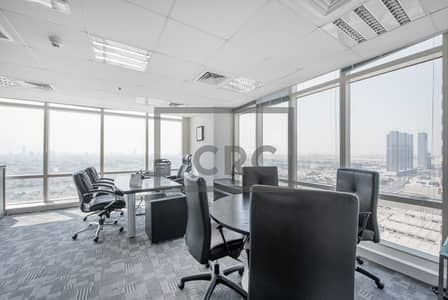 Office for Sale in Jumeirah Lake Towers (JLT), Dubai - Fitted | Half Floor | Partition and Open