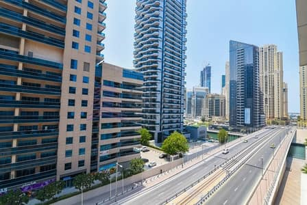 2 Bedroom Apartment for Rent in Dubai Marina, Dubai - Chiller Free 2 Beds w/ Balcony | Marina & SZR View