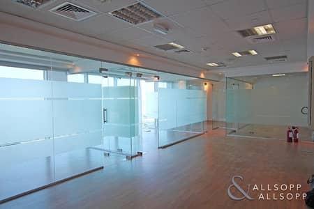 مکتب  للايجار في شارع الشيخ زايد، دبي - Fully Fitted | Great View | 5 Office Rooms