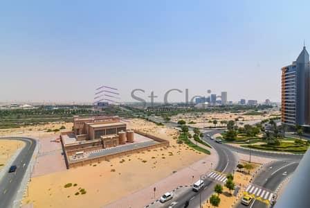 شقة 1 غرفة نوم للايجار في واحة دبي للسيليكون، دبي - 1 Bed with Semi-closed Kitchen | Community View