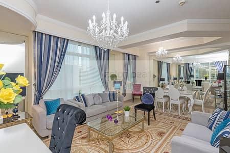 2 Bedroom Apartment for Rent in Dubai Marina, Dubai - Elegantly Furnished 2B+M Sea View Vacant