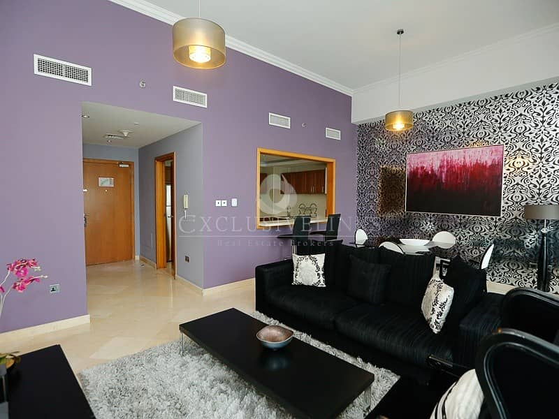 Stunning furnished 2 bed for rent in Dubai Marina
