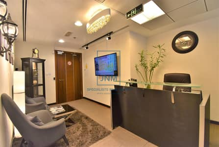 Office for Rent in Jumeirah Lake Towers (JLT), Dubai - Fully Furnished At Amazing Price In Saba 1