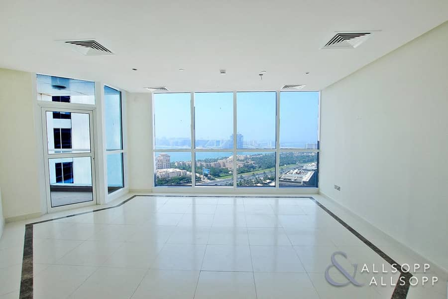 Sea and Palm View | 3 Beds | Unfinished
