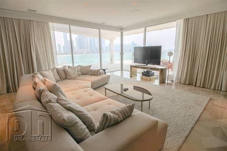 بنتهاوس 4 غرفة نوم للايجار في نخلة جميرا، دبي - Immaculate Penthouse | Private Pool | Stunning Views