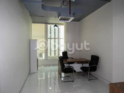 Office for Rent in Business Bay, Dubai - Furnished Office With all Facilities in Business Bay