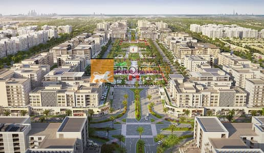 2 Bedroom Flat for Sale in Town Square, Dubai - 2BR - No Commission | Warda Apartments | Nshama Town Square