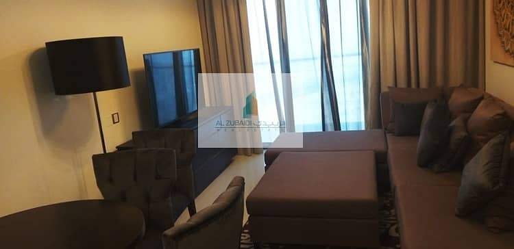 2 LUXURIOUS FULLY FURNISHED ONE BEDROOM  IN GHALIA