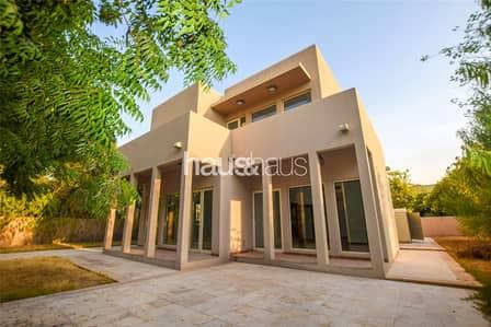 فیلا 3 غرفة نوم للايجار في المرابع العربية، دبي - Upgraded | Quiet Location | Park backing | Type 7