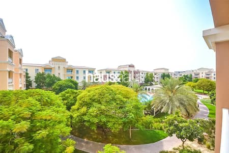 شقة 1 غرفة نوم للايجار في جرين كوميونيتي، دبي - Amazing location backing onto the park