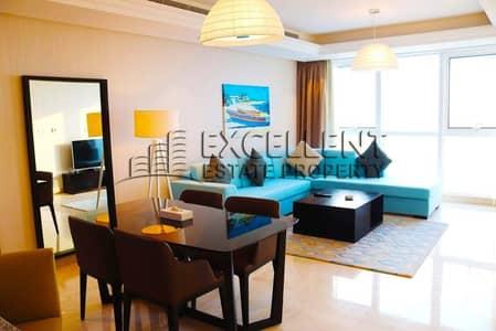 فلیٹ 1 غرفة نوم للايجار في منطقة الكورنيش، أبوظبي - Fully Furnished 1 BR Apartment with Parking and Free ADDC