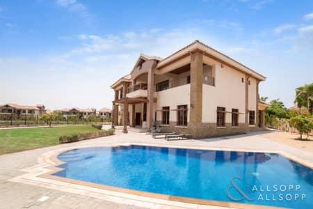 فیلا 5 غرفة نوم للبيع في جزر جميرا، دبي - Mansions | Exclusive | Lake and City Views