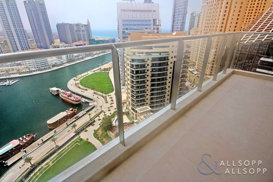 Marina View | Large Balcony | 1 Bedroom