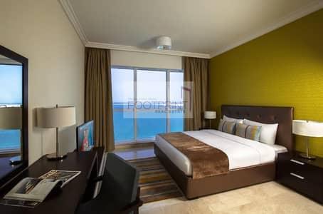 فلیٹ 1 غرفة نوم للايجار في المیناء، أبوظبي - Hot Deal Full  Furnished Apt Sea View In Corniche