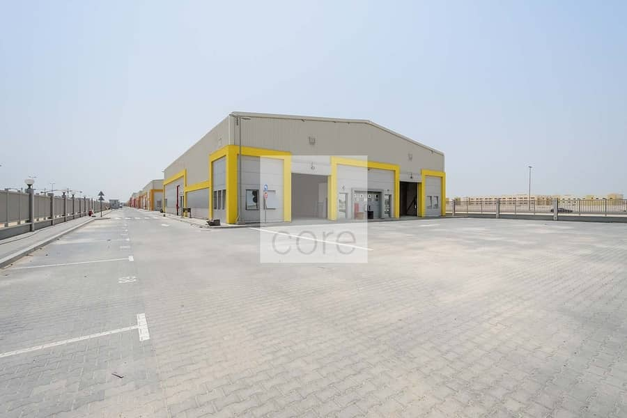 10 Spacious  warehouse in Mussafah for  rent