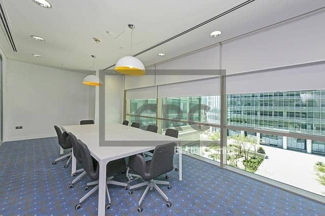 Office |Furnished | Partitions | 13 Parking
