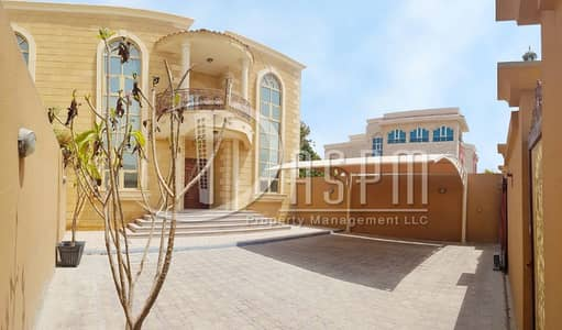 5 Bedroom Villa for Rent in Khalifa City A, Abu Dhabi - amazing 5 beds private yard & parking 170k